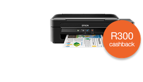 Epson L382 ITS (Ink Tank System) 3-in-1 Multifunction Printer