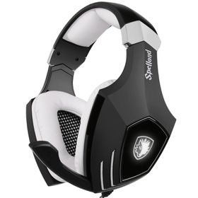 SADES A60 Gaming Headphones with Microphone for PC & MAC - Black