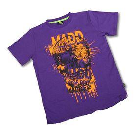 Madd Apparel Bonehead Tee - Purple