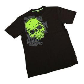 Madd Apparel Corpo Skull Tee - Black, Green