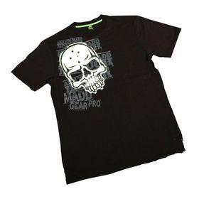 Madd Apparel Corpo Skull Tee - Black, White