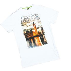 Madd Apparel London Tee - White