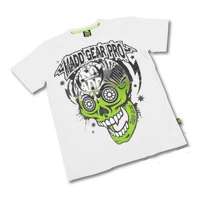 Madd Apparel Muerte Skull Tee - White