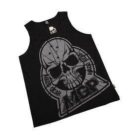 Madd Apparel Oversized Shattered Vest - Black