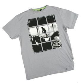 Madd Apparel Sectioned Tee - Grey