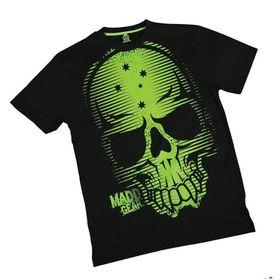 Madd Apparel Tremors Tee - Green, Black