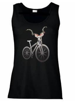 SweetFit-  Sweet Ride Ladies Black Vest