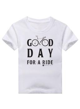 SweetFit-  Good Day Kids Turquoise Tee