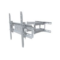 "Ultra Link Premium Full Motion Tv Mount Bracket 32""-70"" - Silver"