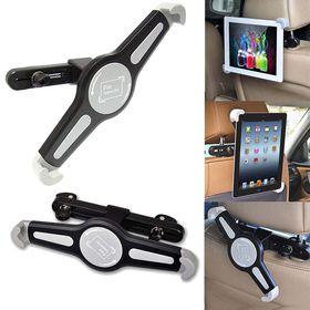 "Ultra Link Universal Headrest Tablet Holder 7""-11"" - Black & Grey"