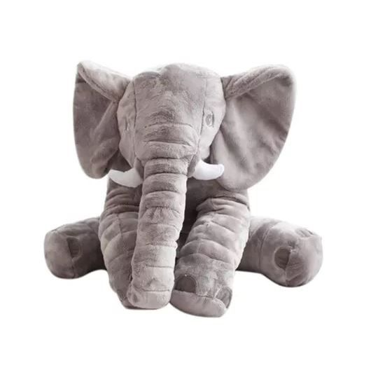 stuffed elephant plush pillow grey buy online in south africa