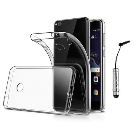 buy online 11fc0 d49fd Slim Fit Protective Case with Transparent Soft Back for Huawei P8 Lite  (2017)