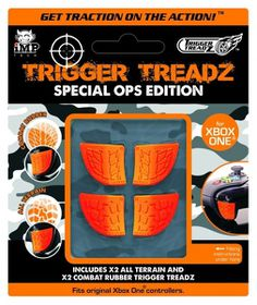 Trigger Treadz Special Ops Grips - 4 Pack (Xbox One)