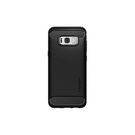 competitive price bd320 21917 Spigen Rugged Armor Cover for Samsung Galaxy S8 Plus - Black