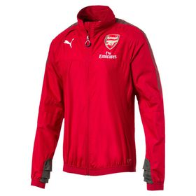 Men's Puma Arsenal FC Stadium Vent Jacket Thermo-R with Sponsor