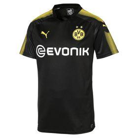 Men's Puma Borussia Dortmund FC Away Replica Shirt with Sponsor