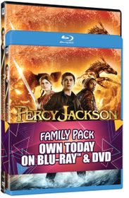 Percy Jackson Sea Of Monsters (Blu Ray+DVD)