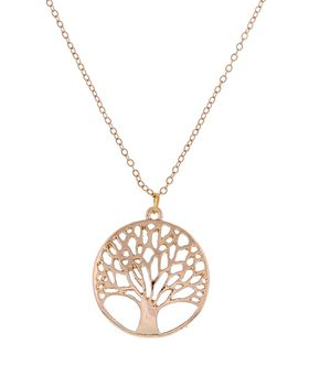 Unexpected Box Rose Gold Tree of Life Necklace