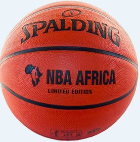 2015 NBA Africa Limited Edition Rubber Basketball (Size: 7)