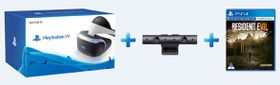 Playstation VR Console + Camera + Resident Evil 7: Biohazard (PS4)