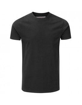 Charles Wilson Mens Premium Crew Neck T-Shirt - Black