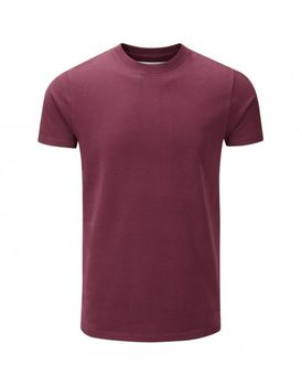 Charles Wilson Mens Premium Crew Neck T-Shirt - Port