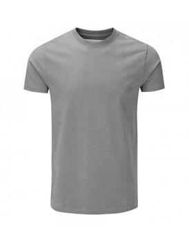 Charles Wilson Mens Premium Crew Neck T-Shirt - Charcoal