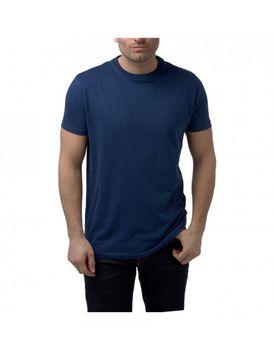 Charles Wilson Mens Premium Crew Neck T-Shirt - Navy