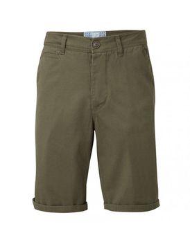 Charles Wilson Mens Chino Shorts - Khaki