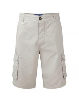 Charles Wilson Mens Plain Cargo Shorts - Sand