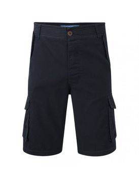Charles Wilson Mens Classic Cargo Shorts - Navy