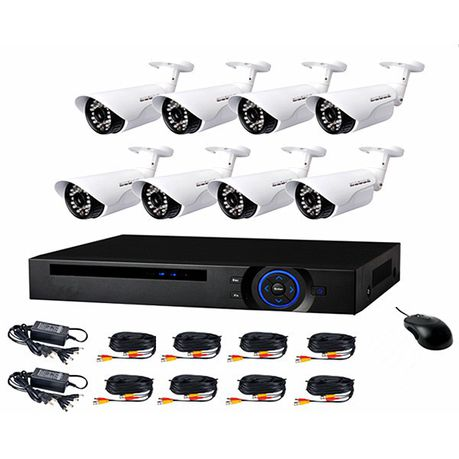 Ahd Cctv Direct 8 Channel Cctv Camera System Full Kit Perfect Security Buy Online In South Africa Takealot Com