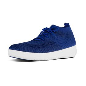 Fitflop Uberknit High Top Sneaker Blue/Black