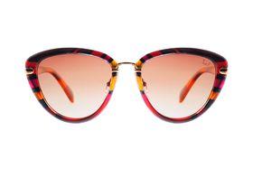 Slaughter & Fox Ladies Eyewear Manhattan Limited Edition C1 - Flaming Red