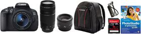 Canon 700D Triple Lens Extreme Value Bundle