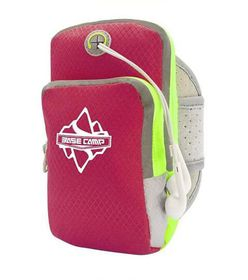 "Basecamp Multifunctional ArmBag - Fits 3-5"" Cell Phones (Pink)"
