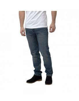 Charles Wilson Mens Straight Fit Jeans - Mid-Wash