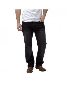 Charles Wilson Mens Loose Fit Jeans - Black-Wash