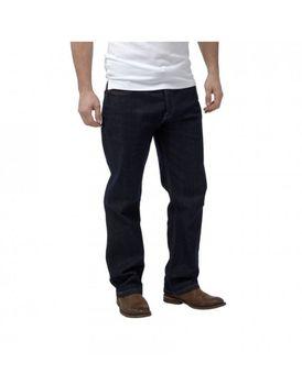 Charles Wilson Mens Loose Fit Jeans - Raw-Denim