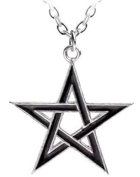 Alchemy Black Star Pendant