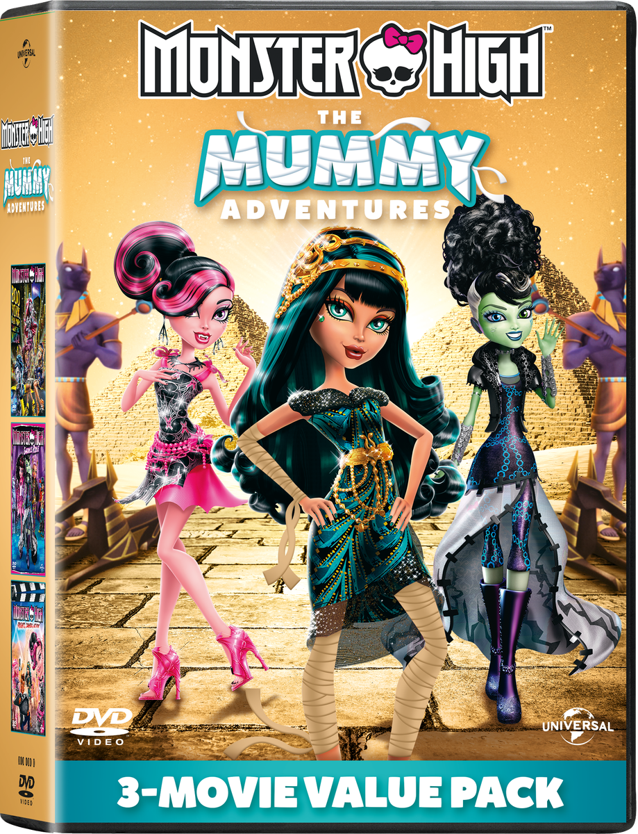 Monster High -the Mummy Adventures (dvd)   Buy Online in ... - photo#25