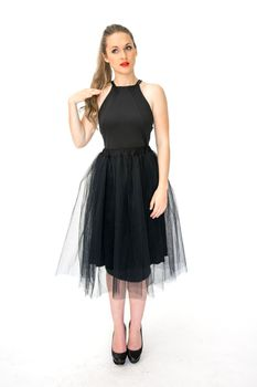 BiBi Rouge Adelle Tulle Skirt - Black