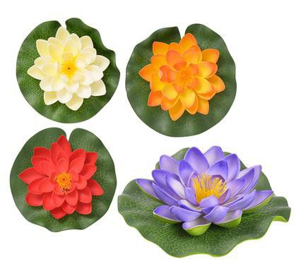 Bulk pack 8 x floating lotus flower 14cm assorted colours buy bulk pack 8 x floating lotus flower 14cm assorted colours buy online in south africa takealot mightylinksfo