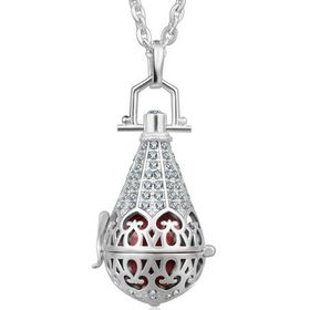 Shiroko Silver Plated Harmony Pendant - HP113-20mm