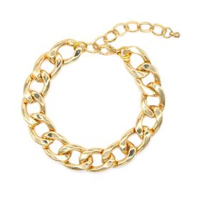 Lily & Rose Large Classic Gold Curb Link Bracelet