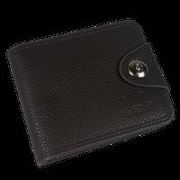 Shaishi Mens Wallet With Clip - Black