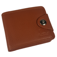 Shaishi Mens Wallet With Clip - Brown