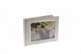 wedding guest book with frame