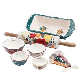 Pioneer Woman Harvest 10 Piece Bakeware Set