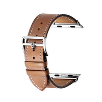 Zonabel 38mm Strap for Apple Watch - Brown Leather